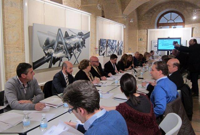 Constitución del Consejo Provincial de Turismo de Jaén.