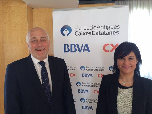 Christian Terribas (BBVA) y Belén Latorre (FACC)