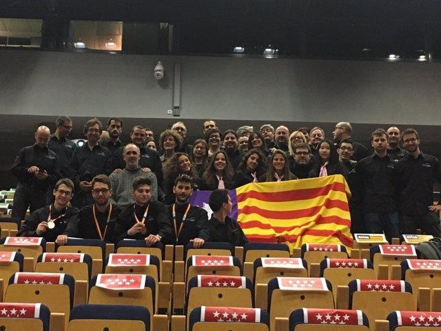 Delegación balear en 'Spainskills'