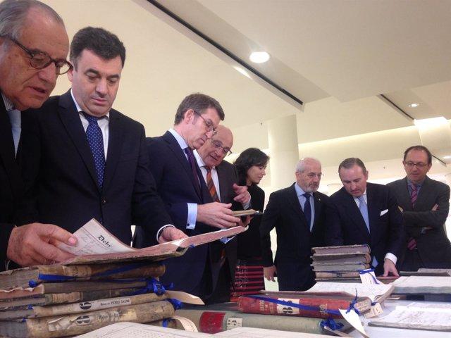 Banco Sabadell deposita el fondo del Banco Gallego en el Arquivo de Galicia