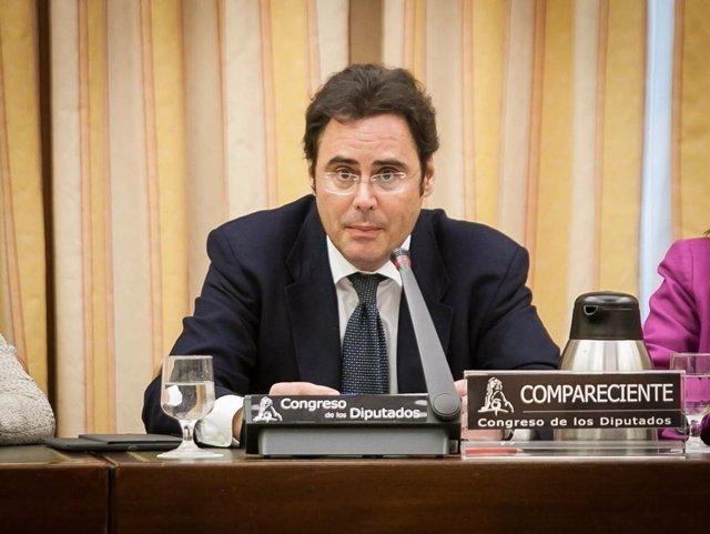 Secretario de Estado para la UE, Jorge Toledo, comparece en el Congreso