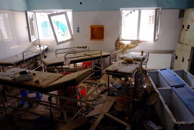 Hospital de MSF bombardeado en Kunduz