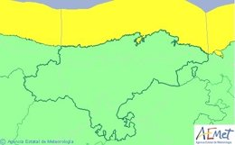 Aviso por fenómenos costeros para este martes