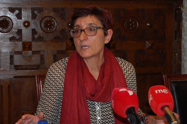 Pilar Delgado, de la Diputación de Soria.