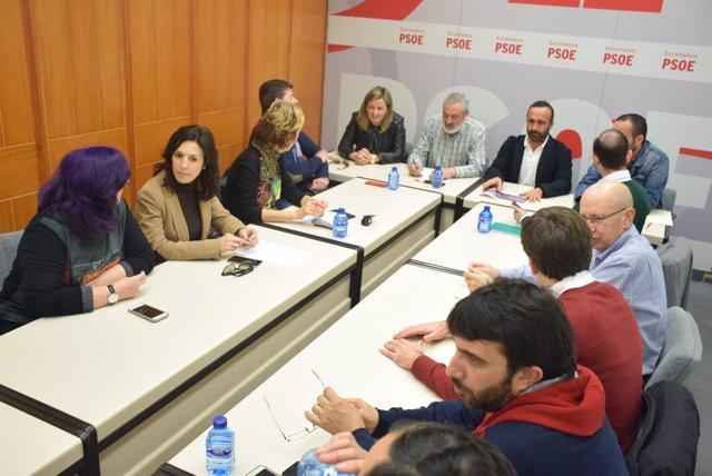 Comisión Ejecutiva PSOE de Cáceres