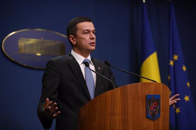 El primer ministro de Rumanía, Sorin Grindeanu