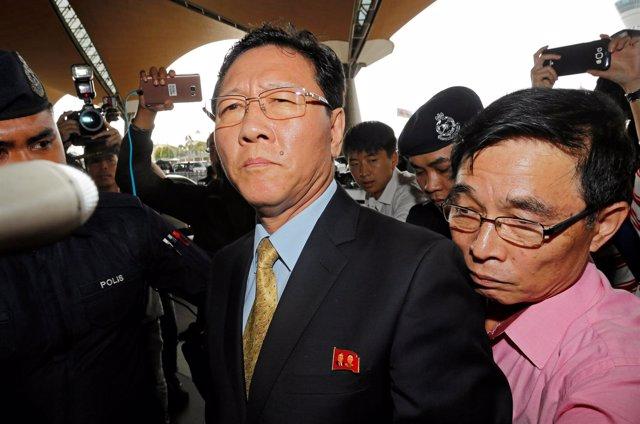 Embajador de Corea del Norte en Malasia Kang Chol