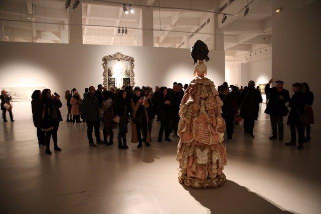Exposición Mark Ryden CAC Málaga museo arte cultura visitantes contemporáneo