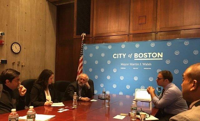 Barcelona y Boston reactivan su hermanamiento