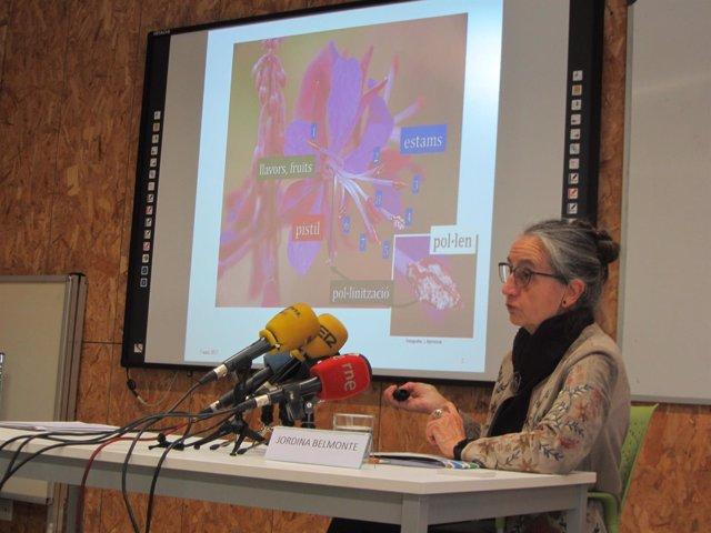 Jordina Belmonte, en la previsión polínica de la primavera en Catalunya