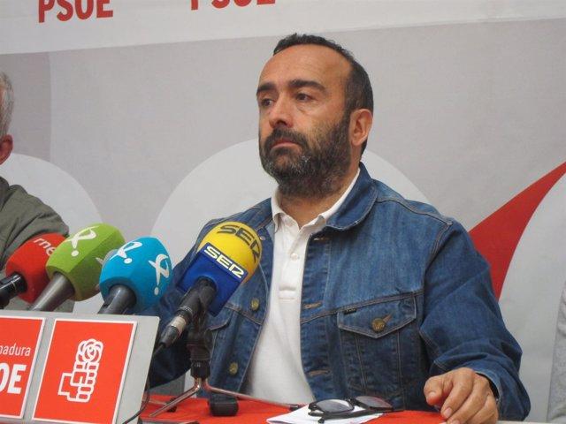 Miguel Ángel Morales, secretario provincial del PSOE en Cáceres