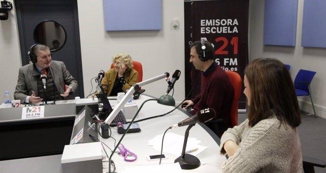 Méndez de Vigo visita radio M21