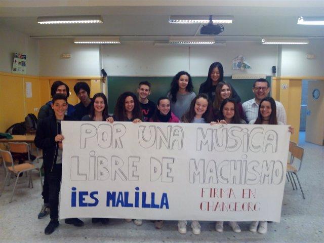 Alumnos Del IES Malilla