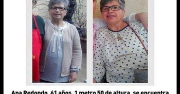 Buscan desde este lunes a una mujer de 61 años desaparecida en Valdepeñas