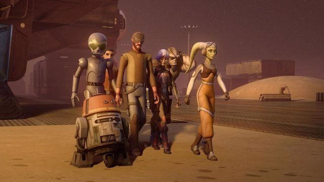 STAR WARS REBELS - Production is underway on a fourth season of the acclaimed an