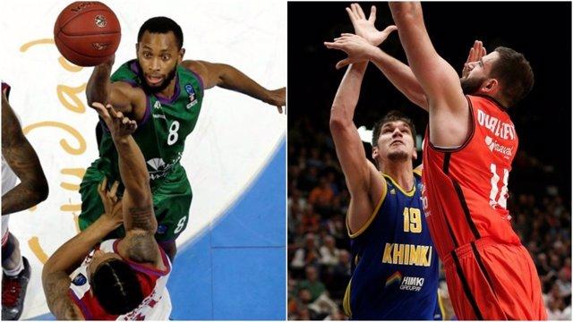 Unicaja y Valencia Basket buscan las semifinales de la Eurocup