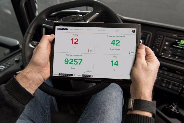Movilidad conectada de Scania