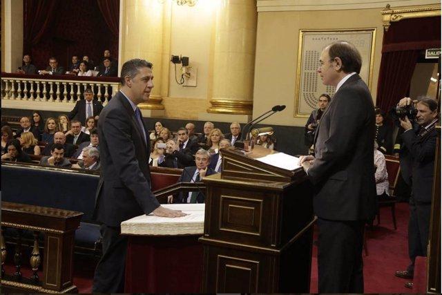 El senador Xavier García Albiol en el Senado