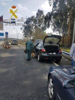 Operación con dos detenidos de Vilagarcía por tráfico de drogas