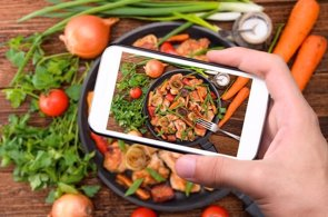Las fotos de comida, ¿lo último en el control dietético? (GETTY)