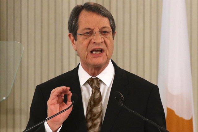 El presidente de Chipre, Nicos Anastasiades