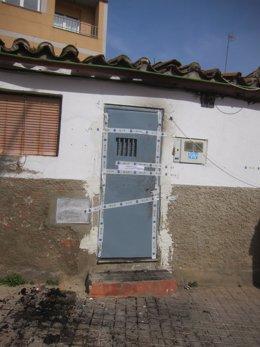 Salamanca.- Vivienda donde tuvieron lugar los hechos