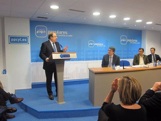 Valladolid. Herrera en la Junta directiva del PP