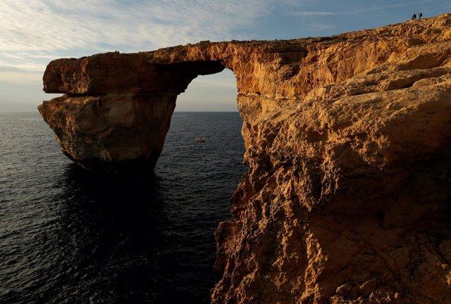 La Ventana Azul, en las isla de Gozo