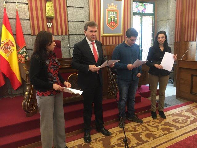 Burgos. Imagen del acto