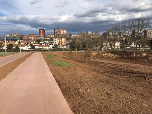 Parque de La Remonta, con los viales (Archivo)