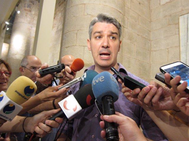 Germán Cantabrana, portavoz del Grupo Parlamentario de Podemos La Rioja