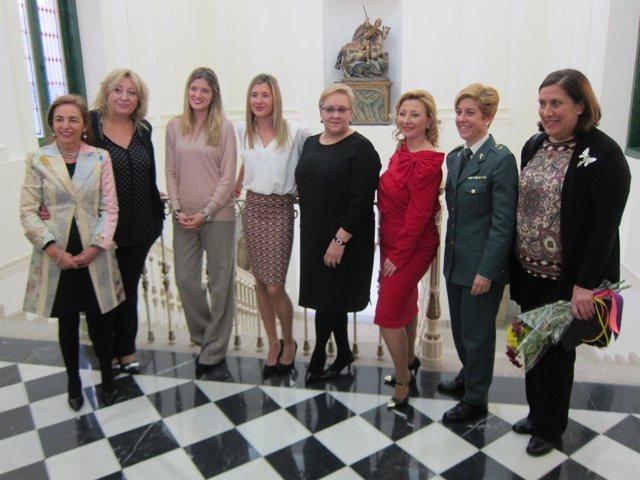Las ocho mujeres de Cáceres que han recibido un homenaje
