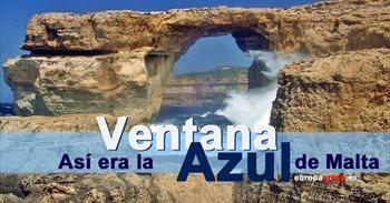 Las mejores fotografías de la 'Ventana Azul', un monumento natural del...