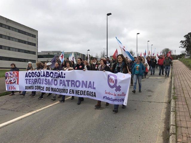 Manifestación Día de la Mujer