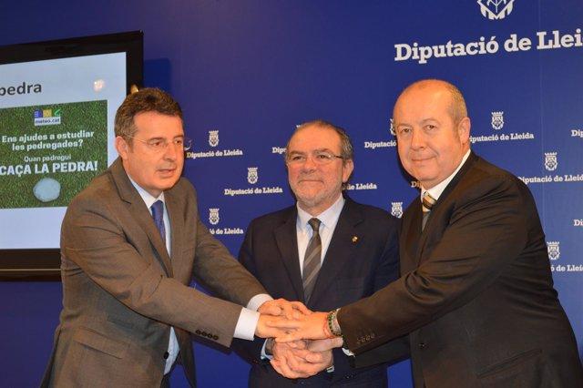 Miquel Noguer, Joan Reñé y Oriol Puig