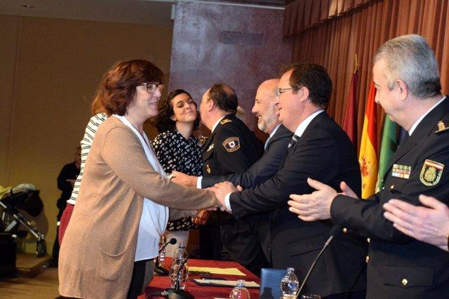 Homenaje a los Bomberos de Sevilla