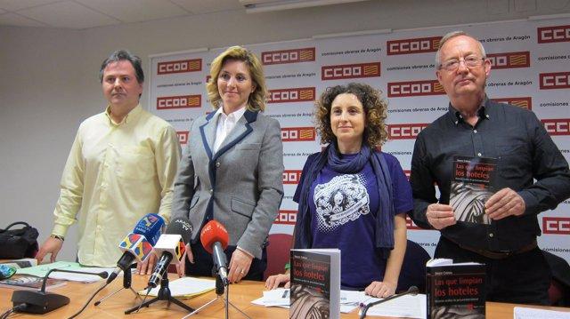 Presentación del informe de CC.OO. Sobre el sector turístico
