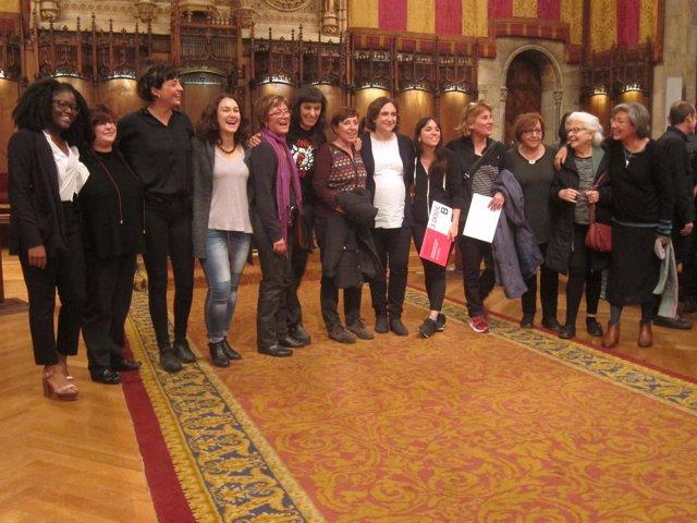 Entrega del XXXI Premi 8 de Març-Maria Aurèlia Capmany de Barcelona