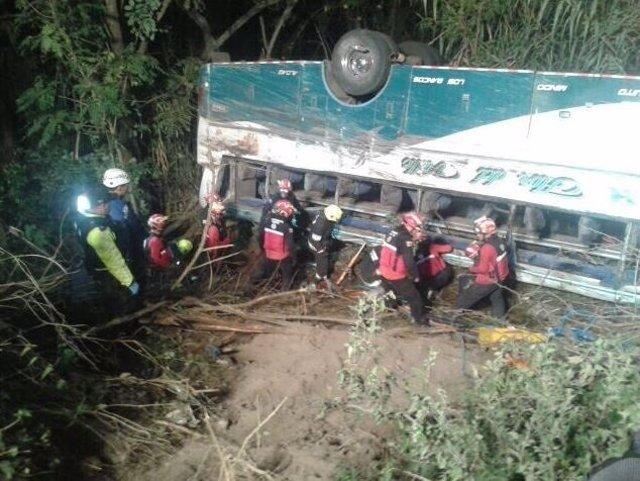 Accidente de autobús Guayllabamba, Ecuador