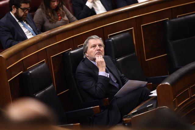 Iñigo Méndez de Vigo en el Congreso