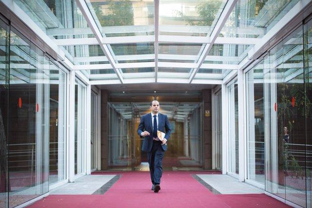 Ignacio Aguado, portavoz de Cs en Madrid