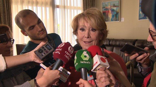 Aguirre reitera que no le consta financiación ilegal