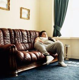 Sedentariso, sofá, obesidad