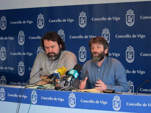 Rueda de Marea Vigo sobre Área Metropolitana.