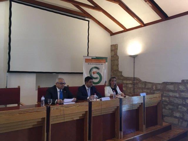 Acto de toma de posesión en el CES Provincial