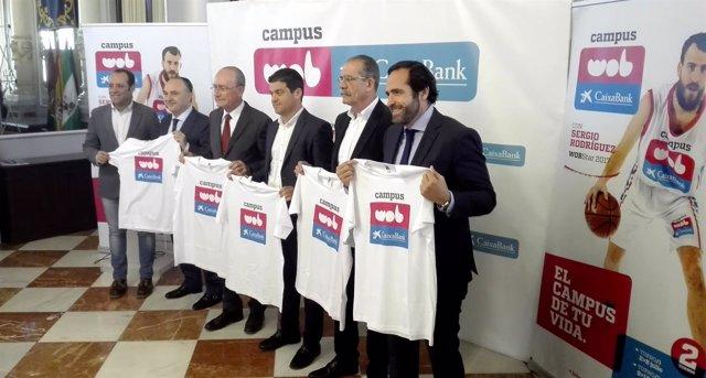 Capums WOB CaixaBank en Málaga presentación