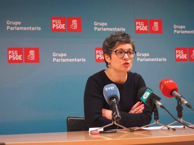 Rueda de prensa de la diputada del PSdeG Patricia Vilán