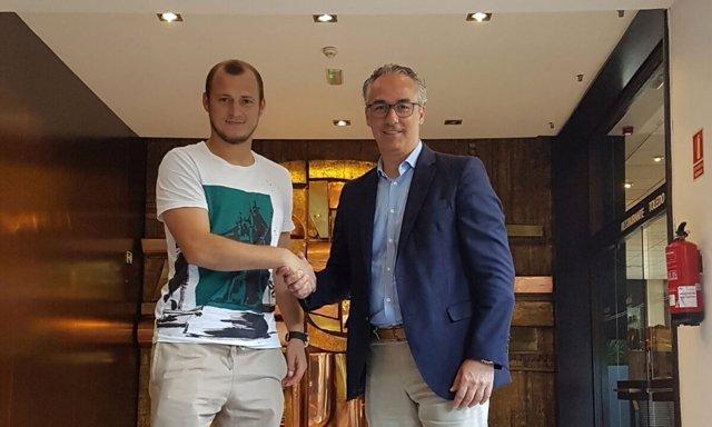 Roman Zozulya, nuevo jugador del Real Betis