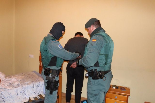 Operación Sueco Argoma Guardia Civil