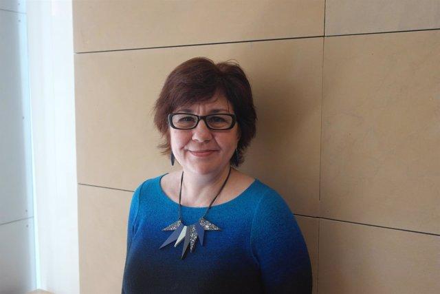 La escritora Teresa Solana